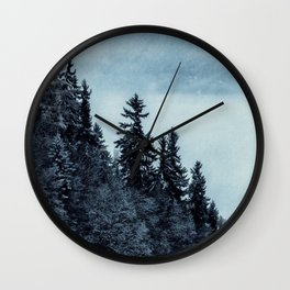 Forest 2 Wall Clock
