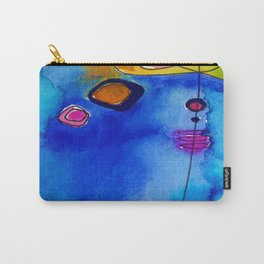 Magical Thinking No. 2C by Kathy Morton Stanion Carry-All Pouch