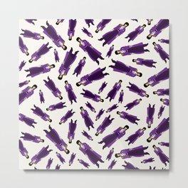 Purple Dove 1 Metal Print