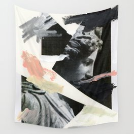 Untitled (Painted Composition 3) Wall Tapestry