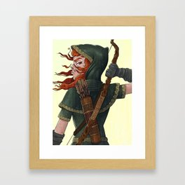 Archer Framed Art Print