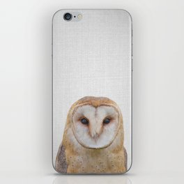 Owl - Colorful iPhone Skin