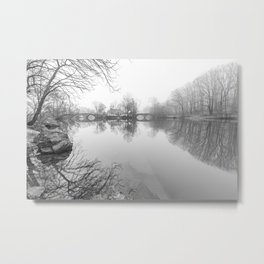 Double Bridges - Clove Lakes Metal Print