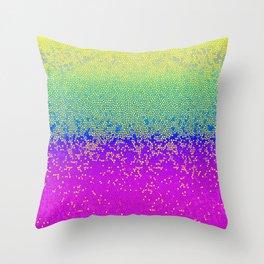 Glitter Star Dust G289 Throw Pillow