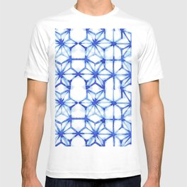 Abstract geometric star T-shirt