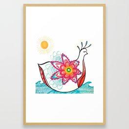 Friendship Bird Framed Art Print