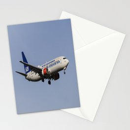 SAS Boeing 737-800 Stationery Cards