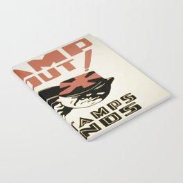 Vintage poster - Stamp 'Em Out Notebook