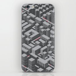 Brutalist Utopia iPhone Skin