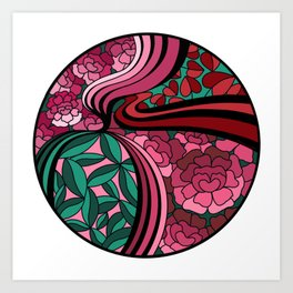 Floral Unity Art Print