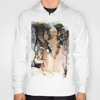 indonesia Hoodies featuring Indonesia by Andreas Derebucha