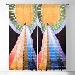 """Hilma af Klint """"Altarpiece No. 1"""" Blackout Curtain"""