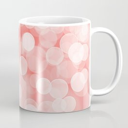 Coral Bokeh Coffee Mug
