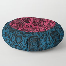 Flower Moon Floor Pillow