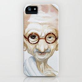 Gandhi iPhone Case