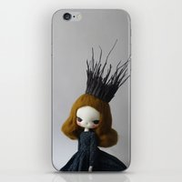 lana iPhone & iPod Skins featuring Lana by Evangelione