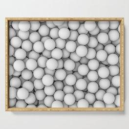Golf balls Serving Tray