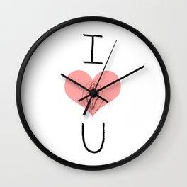 I Heart (Vagina) U Wall Clock