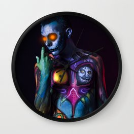Skull Kid Wall Clock