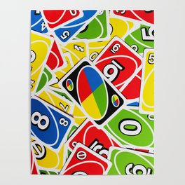 UNO cards Poster
