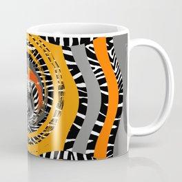 Zebra Tribal Sunset Coffee Mug