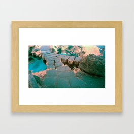 Stone Bridge at the Japanese Gardens, San Francisco Framed Art Print