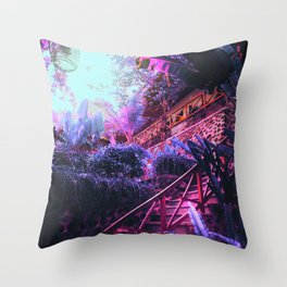 Kiwwi Garden Throw Pillow