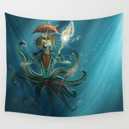 Deep Fear Wall Tapestry