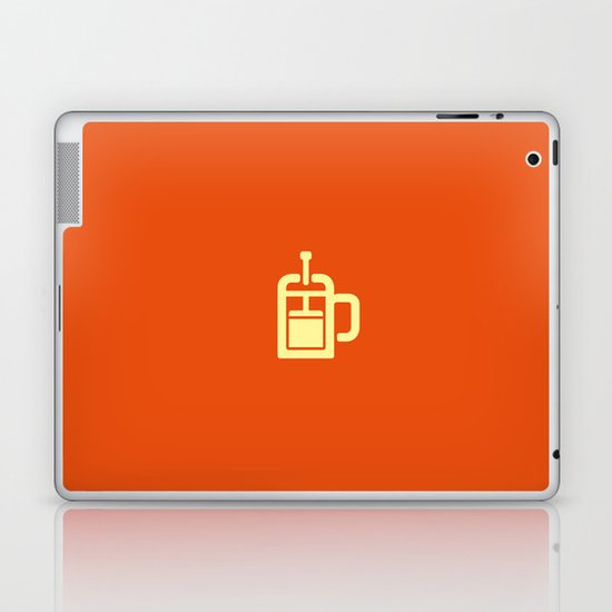 Coffee: The French Press Laptop & iPad Skin