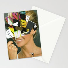 the disaster in her face 1 Stationery Cards