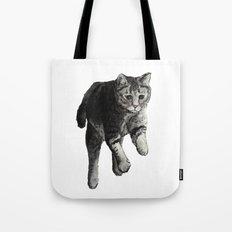 Jumping Cat Tote Bag
