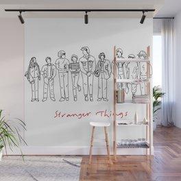 Friends Don't Lie (Black) Wall Mural