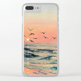 A Place In The World Clear iPhone Case