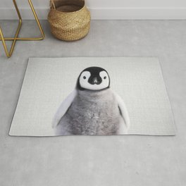 Baby Penguin - Colorful Rug