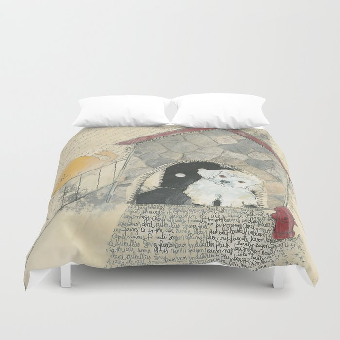 Clearly Confused Duvet Cover