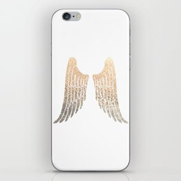 GOLD WINGS iPhone Skin