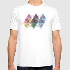 Fig. 034 White MEDIUM Mens Fitted Tee