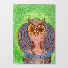 Owley!  Canvas Print
