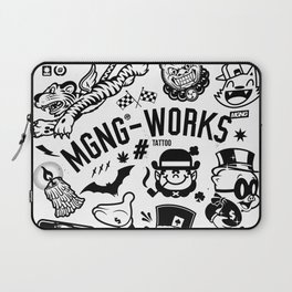 MGNG WORKS. TATTOO Laptop Sleeve