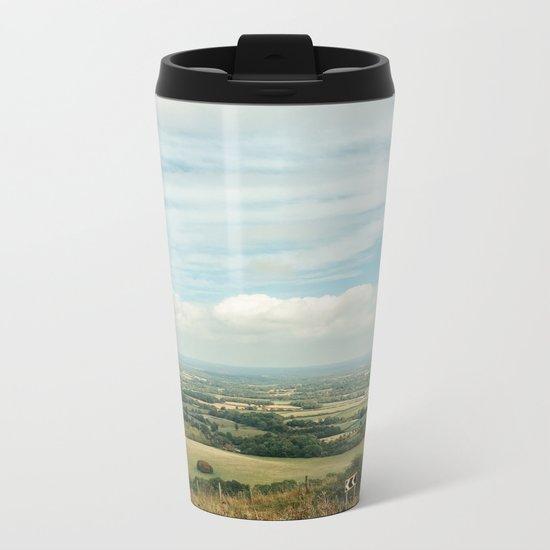 I Can See For Miles Metal Travel Mug