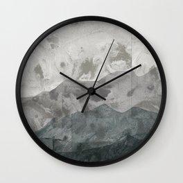 Breezy Winter Wall Clock