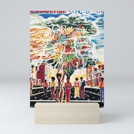 EARTH WIND FIRE LAST DAYS Mini Art Print