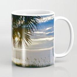Palm Sunrise Coffee Mug