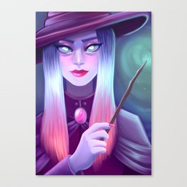 Candy Witch Canvas Print