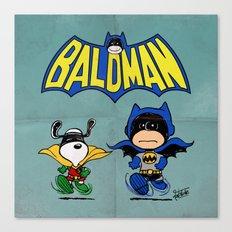 Baldman Canvas Print