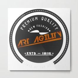 Art Agility Premium Quality Vintage Design Metal Print