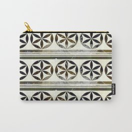 Moroccan Motifs Carry-All Pouch