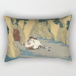 Sado Cave of Two Lovers Rectangular Pillow