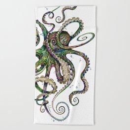 Octopsychedelia Beach Towel
