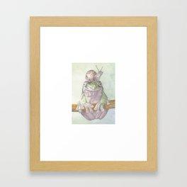 You're On My Mind Framed Art Print